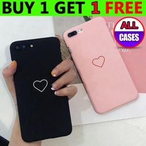Accessories - *NEW iPhone Max/XR/XS/X/7/8/Plus Match Heart Case
